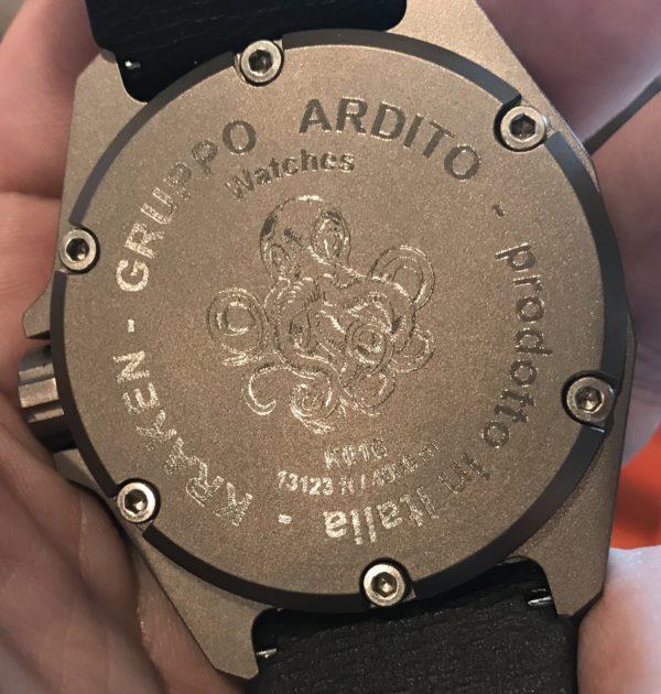 gruppo ardito watch